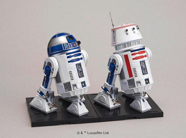 【中古】(本体A-/箱B)スターウォーズ 1/12 R2-D2&R5-D4 プラモデル[バンダイ]《発売済・在庫品》
