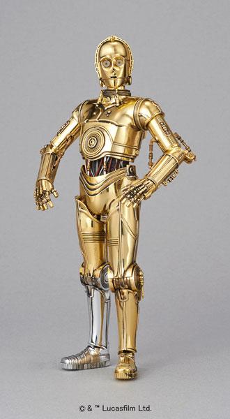 【中古】(本体A-/箱B)スターウォーズ 1/12 C-3PO プラモデル[バンダイ]《発売済・在庫品》