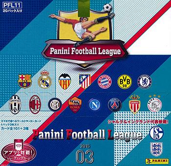 パニーニ フットボール リーグ 2015 03 [PFL11] 20パック入りBOX[バンダイ]《在庫切れ》