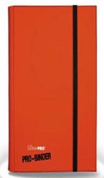 プロゲーマー用アルバム簡易表紙版 オレンジ(18ポケットシート付き)[Ultra・PRO]《在庫切れ》