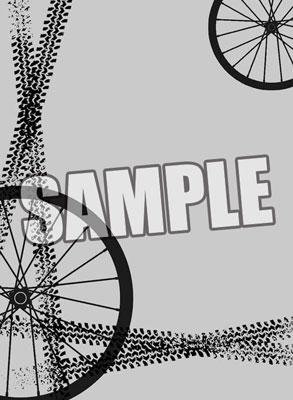 キャラクタースリーブプロテクター 【世界の文様】 「ロードバイクホイール」 パック[ブロッコリー]《在庫切れ》