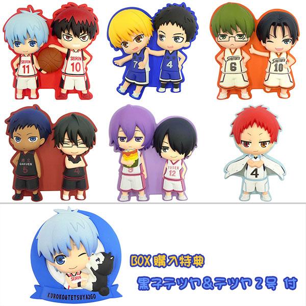 DECO☆RICH+ 黒子のバスケ 8個入りBOX(BOX購入特典:黒子テツヤ&テツヤ2号 付)[ムービック]《在庫切れ》