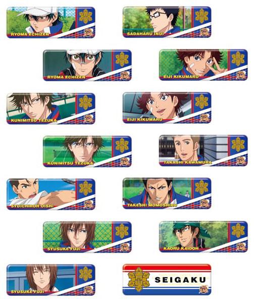 新テニスの王子様 ロングカンバッジコレクション(青学) 14個入りBOX[エンスカイ]【送料無料】《在庫切れ》