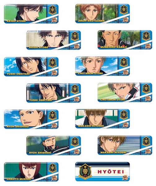 新テニスの王子様 ロングカンバッジコレクション(氷帝) 14個入りBOX[エンスカイ]【送料無料】《在庫切れ》