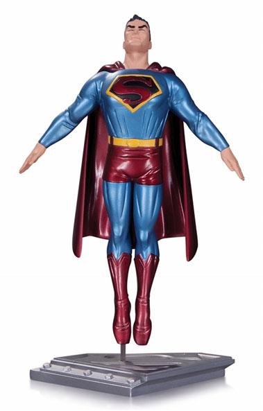 スーパーマン: ザ・マン・オブ・スティール/ スーパーマン スタチュー by ダーウィン・クック[DCコレクティブル]《在庫切れ》