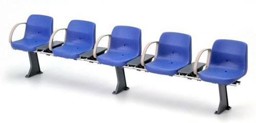 1/12スケール 鉄道小物シリーズ EK-10 新型駅ベンチ(ブルー)[トミーテック]《在庫切れ》