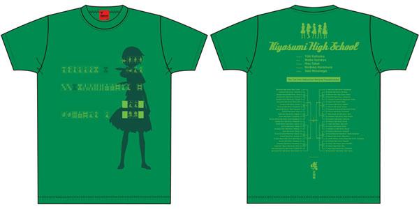 咲-Saki-全国編 Tシャツ 清澄 Mサイズ[キャラアニ]《在庫切れ》