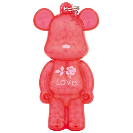 AROMA BE@RBRICK KUMAROMA Love[ローズの香り][ノーマンクリエイティブ]《在庫切れ》