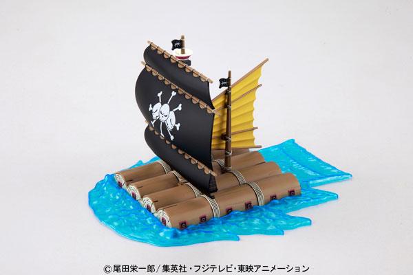 ワンピース 偉大なる船(グランドシップ)コレクション マーシャル・D・ティーチの海賊船 プラモデル[バンダイ]《発売済・在庫品》