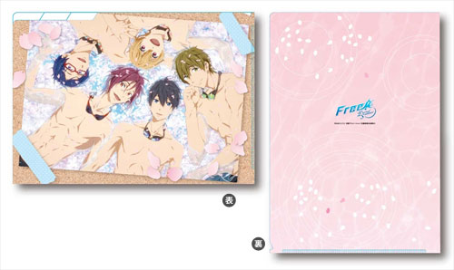 Free! -Eternal Summer- クリアファイル3ポケット[ジーベック]《在庫切れ》
