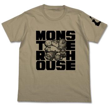 風来のシレン5plus モンスターハウスTシャツ/サンドカーキ-M(再販)[コスパ]《在庫切れ》