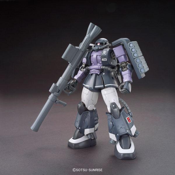 HG 機動戦士ガンダム ジ・オリジン 1/144 高機動型ザクII(ガイア/マッシュ専用機) プラモデル(再販)[バンダイ]《在庫切れ》