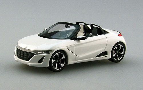 1/43 HOT Honda S660 Tokyo Motor Show 2013 【RESIN】 Pearl White[EBBRO]【同梱不可】《在庫切れ》