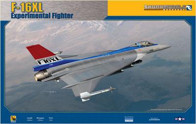 1/48 F-16XL試作戦術戦闘機 プラモデル(再販)[スカンクモデル・ワークショップ]《在庫切れ》