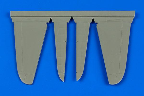 1/48 A6M 零戦用コントロールサーフェイス (H社用)(再販)[アイリス]《10月予約》