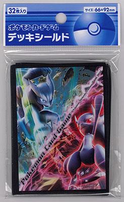 ポケモンカードゲーム デッキシールド メガミュウツーX・メガミュウツーY[ポケモン]《在庫切れ》