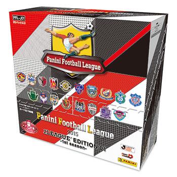 パニーニ フットボール リーグ 2015 J.LEAGUE EDITION 01[PFL-J01] 20パック入りBOX[バンダイ]《在庫切れ》