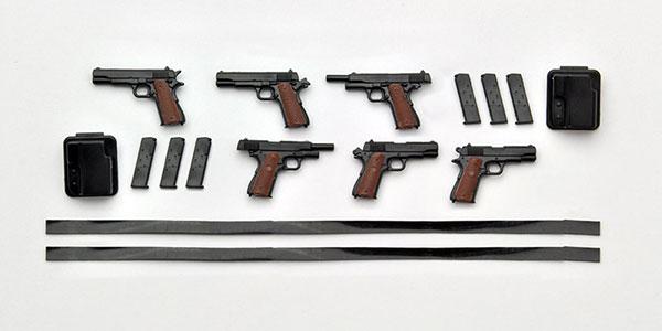 リトルアーモリー LA015 1/12 M1911A1&コマンダータイプ プラモデル(再販)[トミーテック]《在庫切れ》