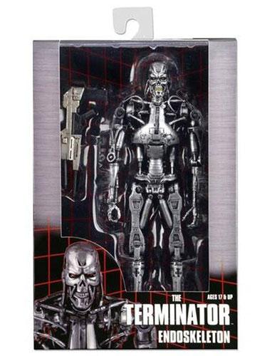 ターミネーター/ T-800 エンドスケルトン 7インチ アクションフィギュア(再販)[ネカ]《在庫切れ》