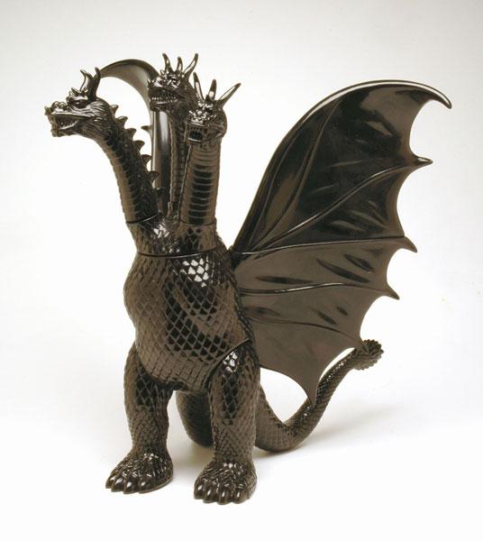 世紀の東宝怪獣 漆黒オブジェコレクション キングギドラ[マルサン]《在庫切れ》