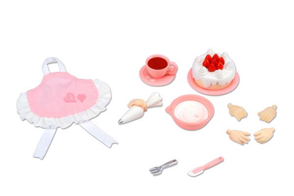 キューポッシュえくすとら わくわく☆ドルチェせっと(ケーキ)[コトブキヤ]《在庫切れ》