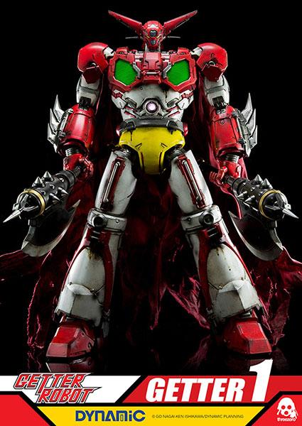 ゲッターロボ Getter1 (ゲッター1) 可動フィギュア[スリー・ゼロ]【送料無料】《在庫切れ》
