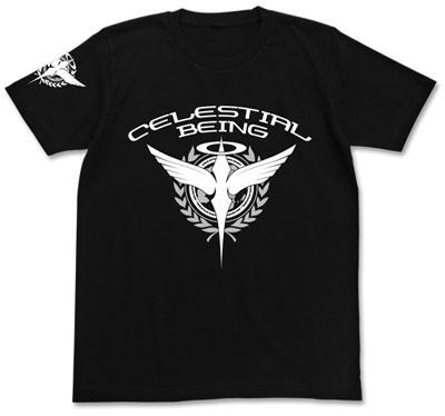 機動戦士ガンダム00 ソレスタルビーイングTシャツ/ブラック-L(再販)[コスパ]《06月予約》