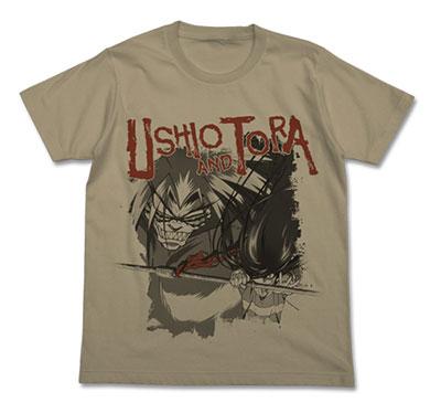 うしおととら Tシャツ/サンドカーキ-S(再販)[コスパ]《在庫切れ》