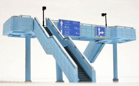情景コレクション 情景小物119 大型歩道橋(再販)[トミーテック]《01月予約》