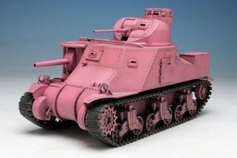 ガールズ&パンツァー 1/35 M3中戦車リー ウサギさんチーム プラモデル(再販)[プラッツ]《在庫切れ》