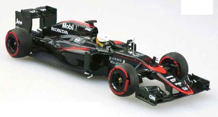 1/43 McLaren Honda MP4-30 2015 Middle Season Version No.14 Fernando Alonso[EBBRO]《在庫切れ》