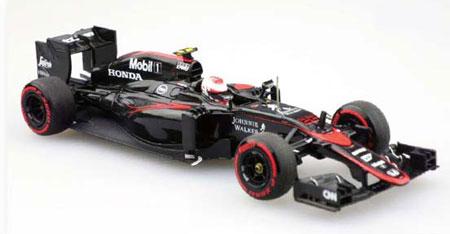 1/43 McLaren Honda MP4-30 2015 Middle Season Version No.22 Jenson Button[EBBRO]《在庫切れ》