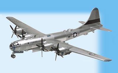 1/48 B-29 スーパーフォートレス プラモデル(再販)[アメリカレベル]《在庫切れ》