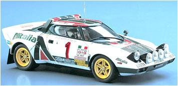 1/24 ランチァ ストラトス HF [1977 モンテカルロ ラリー ウィナー] プラモデル(再販)[ハセガワ]《発売済・在庫品》