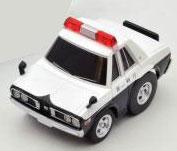 チョロQ zero 西部警察Z05 セドリックGLパトカー[トミーテック]《取り寄せ※暫定》