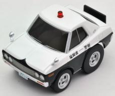 チョロQ zero 西部警察Z07 ローレルパトカー[トミーテック]《取り寄せ※暫定》