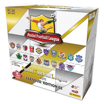 パニーニ フットボール リーグ 2015 Jリーグエディション 20パック入りBOX[バンダイ]《在庫切れ》