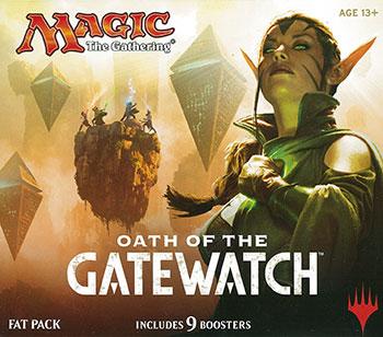 マジック:ザ・ギャザリング ゲートウォッチの誓い ファットパック(英語のみ)[Wizards of the Coast]《在庫切れ》