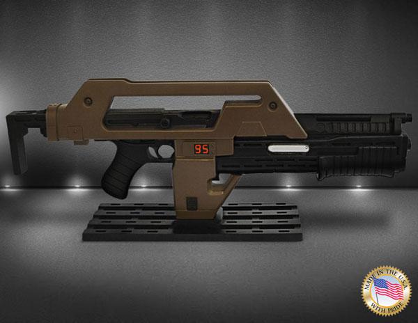 エイリアン2 プロップ・レプリカ 1/1 M41Aパルスライフル ブラウン・ベス版[Hollywood Collectibles Group]【同梱不可】【送料無料】《在庫切れ》