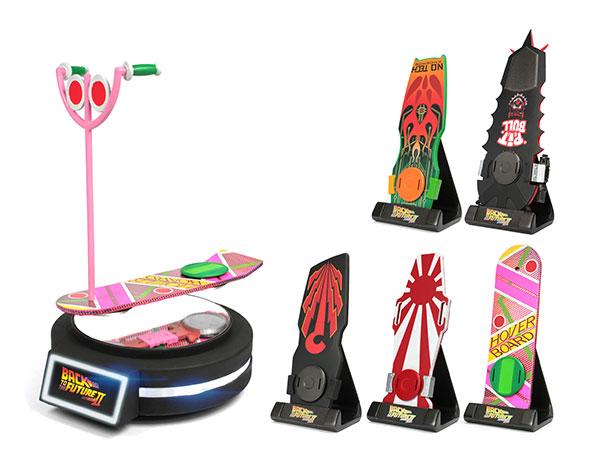 バック・トゥ・ザ・フューチャーPartII 1/6 Magnetic Floating ホバーボード 5種セット[KidsLogic]《在庫切れ》