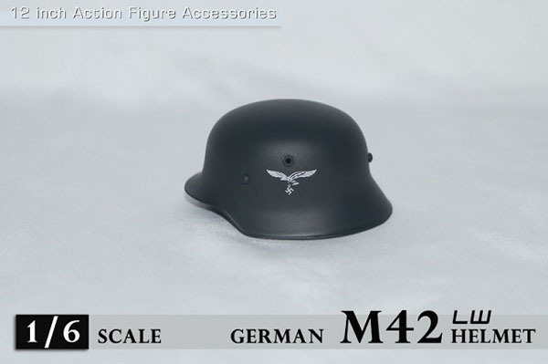1/6 WWII M42 ヘルメット w/ 空軍ロゴ (ZY-M42-LW)(ドール用衣装)[ZY-TOYS]《在庫切れ》