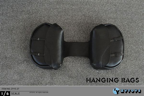 1/6 バイクサイドハンギングバッグ (ZY15-27)(再販)[ZY-TOYS]《在庫切れ》