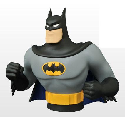『バットマン アニメイテッド』【ソフビ貯金箱】バットマン[ダイアモンドセレクト]《取り寄せ※暫定》