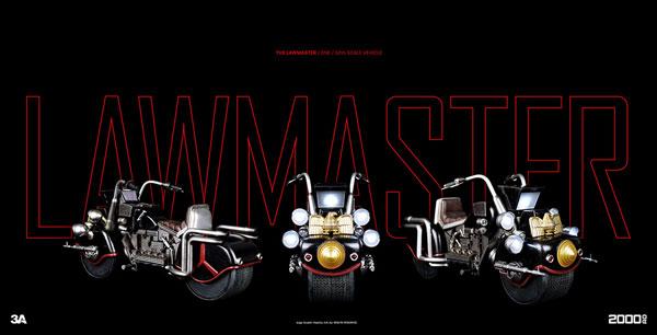 2000 AD - LAWMASTER MK1(2000 AD - ローマスターMK1) 1/12 可動フィギュア[スリー・エー]《在庫切れ》