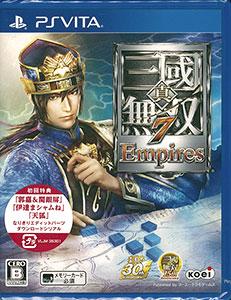 PS Vita 真・三國無双7 Empires(初回封入特典:なりきりエディットパーツダウンロードシリアルコード 付)[コーエーテクモゲームス]《在庫切れ》