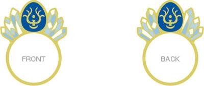 スタジオジブリ作品 ポップリング 天空の城ラピュタ (6)飛行石[エンスカイ]《在庫切れ》