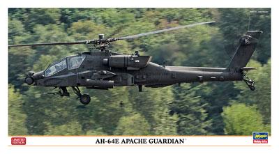 1/48 AH-64E アパッチ ガーディアン プラモデル[ハセガワ]《取り寄せ※暫定》