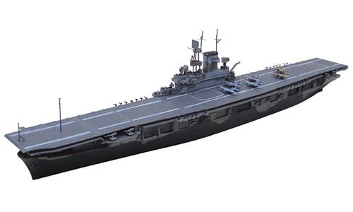 1/700 ウォーターライン 米国航空母艦WASP マルタ島輸送作戦 プラモデル[アオシマ]《取り寄せ※暫定》