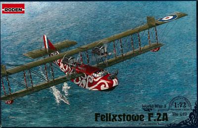 1/72 英フェリックストウF.2A飛行艇前期型WW1 プラモデル(再販)[ローデン]《在庫切れ》