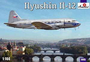 1/144 イリューシンIl-12双発旅客機チェコ航空 プラモデル[Aモデル]《在庫切れ》